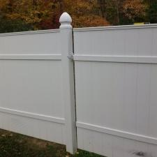 After vinyl fence cleaning nj 1
