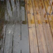 Before after deck cleaning nj