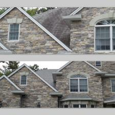 Before after exterior house washing