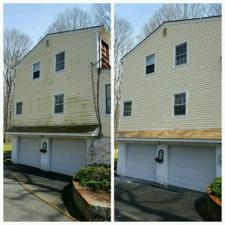 Before after house wash