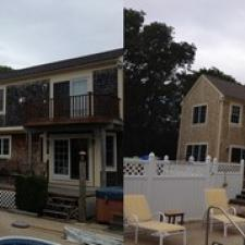 Before after new jersey house exterior cleaning