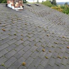 Before roof cleaning nj 1