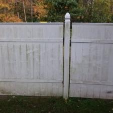 Before vinyl fence cleaning nj 2
