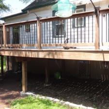 Ipe deck softwash cleaning west caldwell 1