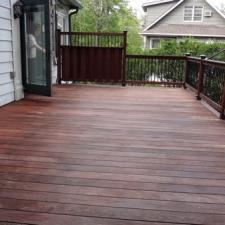 Ipe deck softwash cleaning west caldwell 14