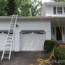 North Caldwell NJ House Wash 1
