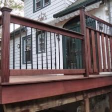 IPE Deck SoftWash Cleaning and Oiling Project in West Caldwell, NJ