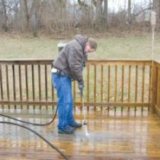 Deck Cleaning & Refinishing – Protecting Your Investment