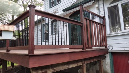 Ipe deck softwash cleaning west caldwell