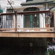 Ipe deck softwash cleaning west caldwell 2